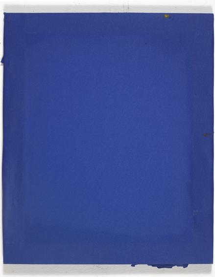 blauer Stoff, 50*40, 2010