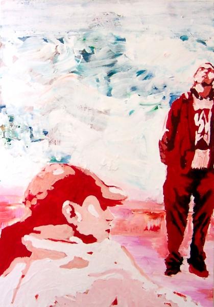 Acryl, 130*70 cm, 2006