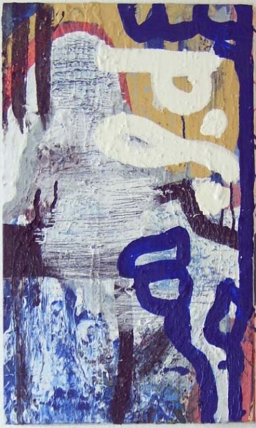 Acryl, Lack, 55*30cm, 2005